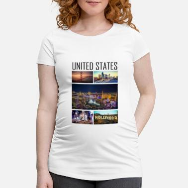 State United States - United States - Maternity T-Shirt