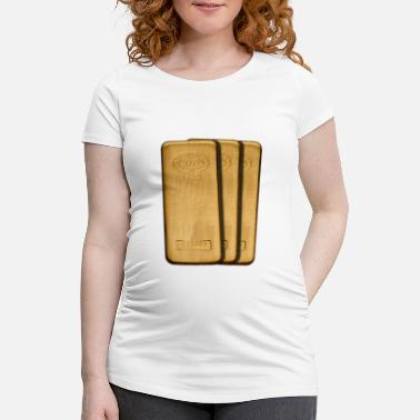 Gold gold - Maternity T-Shirt