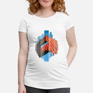 Golden Gate Golden Gate Bridge - T-shirt de grossesse Femme