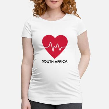 The Heart Of Africa Heart South Africa - Women's Pregnancy T-Shirt