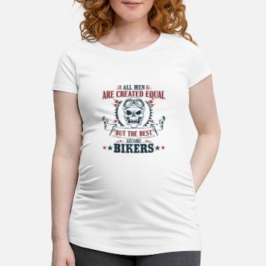 Utv Men become the best bikers - Women's Pregnancy T-Shirt