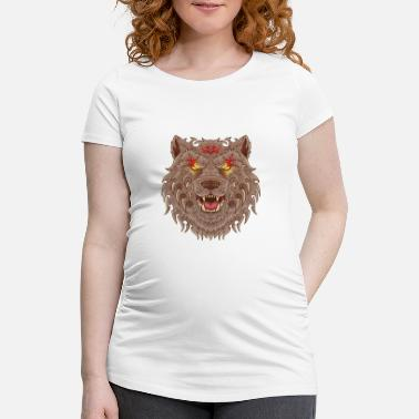 Tatoo WOLF TATOO - Maternity T-Shirt