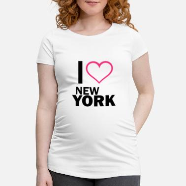 I Love New York i love New York - Schwangerschafts-T-Shirt