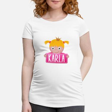Karla Little Princess Karla - Women's Pregnancy T-Shirt