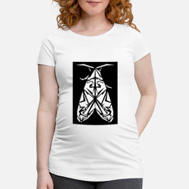 Moth moth - Maternity T-Shirt