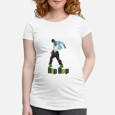 Hip hip hop - Maternity T-Shirt