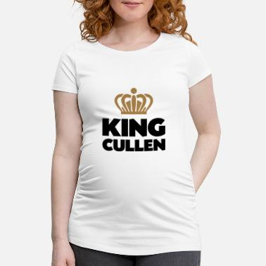 Cullen King cullen name thing crown - Maternity T-Shirt