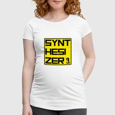 SYNTH 1 - Women's Pregnancy T-Shirt