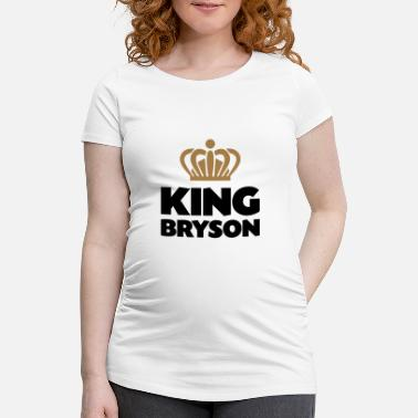 Bryson King bryson name thing crown - Maternity T-Shirt
