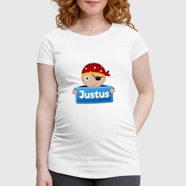Justus Little Pirate Justus - Women's Pregnancy T-Shirt