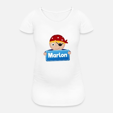 Marlon Little Pirate Marlon - Women's Pregnancy T-Shirt