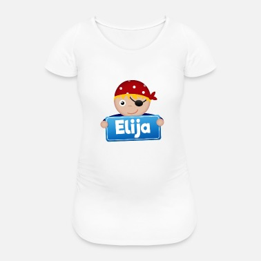 Elijah Little Pirate Elijah - Women's Pregnancy T-Shirt