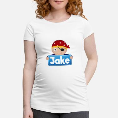 Jake Little Pirate Jake - Gravid-T-shirt dam
