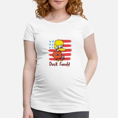 Donald Duck Cheslo: Duck Fonald - Women's Pregnancy T-Shirt