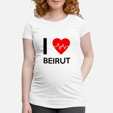 Beirut I Love Beirut - I love Beirut - Women's Pregnancy T-Shirt
