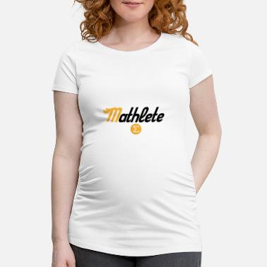 Mathlete Mathlete - Women's Pregnancy T-Shirt