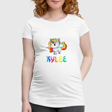 Unicorn Kylee - Women's Pregnancy T-Shirt