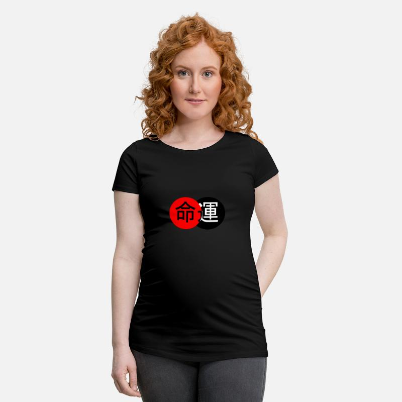 Destiny på kinesisk Gravid T skjorte | Spreadshirt