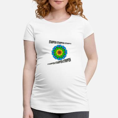 Stomp GOA STOMPS STOMPING - Women's Pregnancy T-Shirt