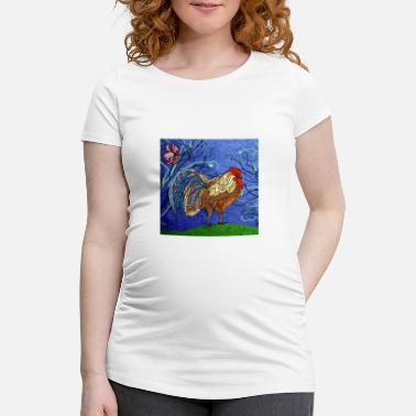 Rooster Rooster - Maternity T-Shirt