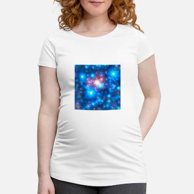 Mobile Phone Galaxy, stars, universe, mobile, motif, Cosmos - Maternity T-Shirt