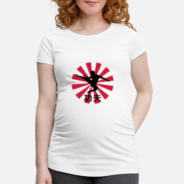 Duel kung fu - Maternity T-Shirt