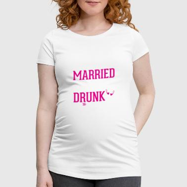 JGA - SHE IS GETTING MARRIED TEAM - Women's Pregnancy T-Shirt