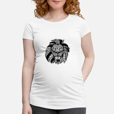 Lion Lioness lion - Women's Pregnancy T-Shirt