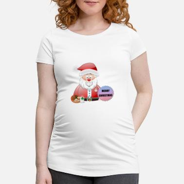 Job Underwear Santa 16 Merry Christmas - Maternity T-Shirt
