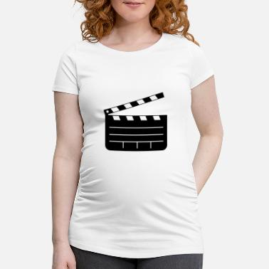 Clapperboard Clapperboard - Maternity T-Shirt