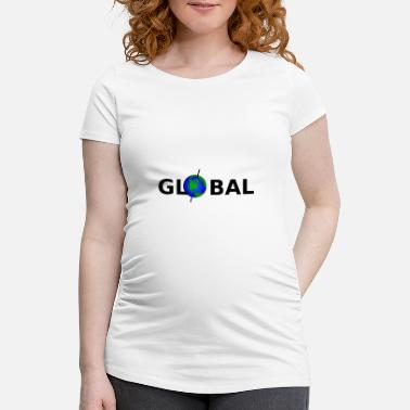 Global Global - Schwangerschafts-T-Shirt