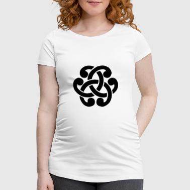 Celtic Symbol Celtic sign - Women's Pregnancy T-Shirt