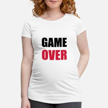 Game Over game over - Gravid T-skjorte