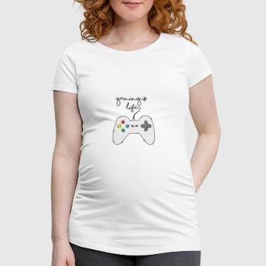 Game / Gamer / Games: Gaming is life. - Women's Pregnancy T-Shirt