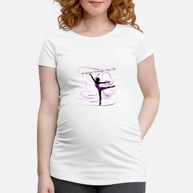 Dancer dancer - Women's Pregnancy T-Shirt