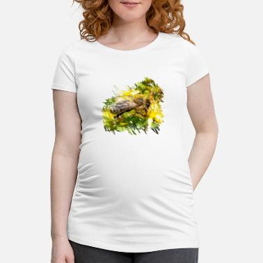 Pollinate Bees pollinate plants and produce honey - Women's Pregnancy T-Shirt