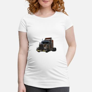 Heavy Duty American heavy truck - Women's Pregnancy T-Shirt