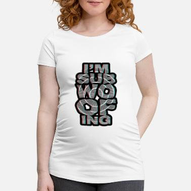 Subwoofer I'm subwoofing 3D - Maternity T-Shirt