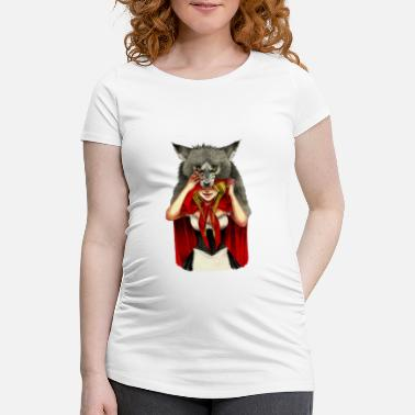 Caperucita Roja Little Red Riding Hood - Camiseta premamá