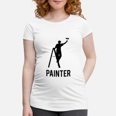 Painter Painter - Zwangerschaps T-shirt