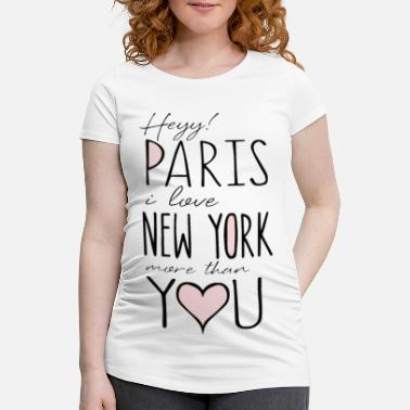 Paris Paris - Maternity T-Shirt
