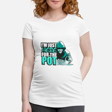 Poker poker - Maternity T-Shirt