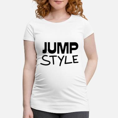 Jumpstyle Jumpstyle gift - Maternity T-Shirt