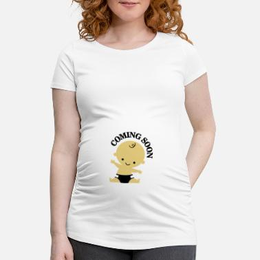 Coming Baby - Coming Soon - Maternity T-Shirt