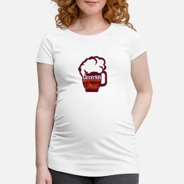 Weekend weekend coming biere citation alcool humour 2 - T-shirt de grossesse