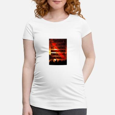 Fire Fire in fire - Maternity T-Shirt