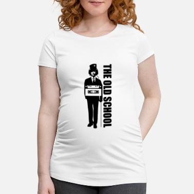 Hiphop Old School old-school - T-shirt de grossesse