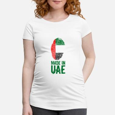 Abou Dabi Made In UAE / Emirats Arabes Unis - T-shirt de grossesse Femme