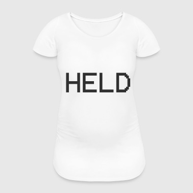 Hand Held Held Phone - Women's Pregnancy T-Shirt
