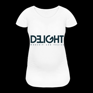 Logo DeLight - Women's Pregnancy T-Shirt